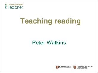 Teaching reading Watkins izle