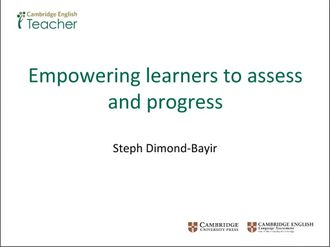 Empowering learners to assess and progress Dimond-Bayir izle