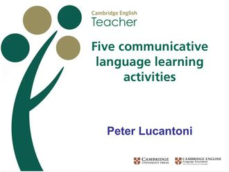 Communicative language learning activities Lucatoni izle