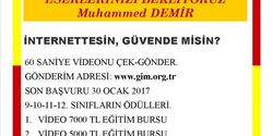 İnternettesin, Güvende misin?