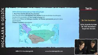 Orta Asya'da Kurulan İlk Türk Devletleri / Asya Hun Devleti izle
