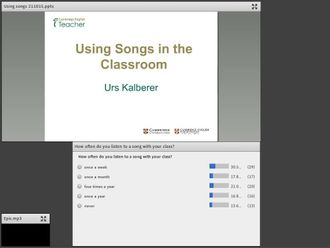 Using songs in the classroom Kalberer izle