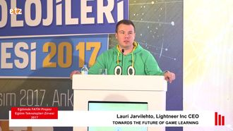 FATIH ETZ 2017 : Lauri Jarvilehto - Towards The Future Of Game Learnıng izle