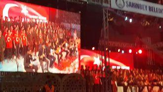 18 Mart Çanakkale Şehitlerini Anma 150 kişilik koro izle