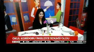 """Balçova Anadolu Lisesi """"English In Street"""" projesi TRT haberi izle"""