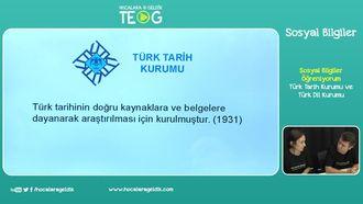 Türk Tarih Kurumu ve Türk Dil Kurumu izle
