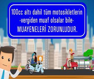 KASK VE MOTORSİKLET MUAYENESİ- (44 Sn.) izle