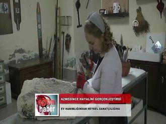 Ev Hanımlığından Heykel Sanatçılığına (12.11.2012) izle
