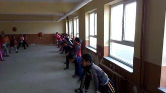 Çengilli Ortaokulu Basketbol Göğüs Pası Çalışması izle