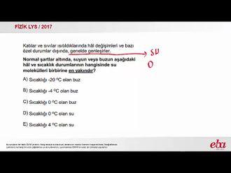 Suyun Genleşmesi  (2017 LYS-FİZİK ) izle