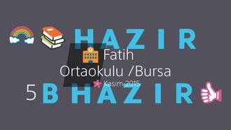 KİTAPLAR HAZIR, SINIFLAR HAZIR izle
