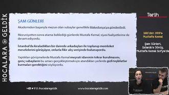 Şam Günleri, Selanik'e Dönüş, Mustafa Kemal Sofya'da izle