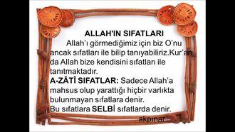 Allah'ın Sıfatları izle