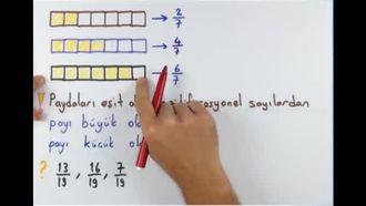 7. Sınıf Matematik Rasyonel Sayıları Sıralama izle