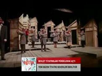 Devlet  Tiyatroları Perdelerini Açtı (19.10.2012) izle
