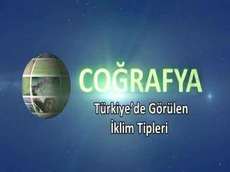 Türkiye'de Görülen İklim Tipleri izle