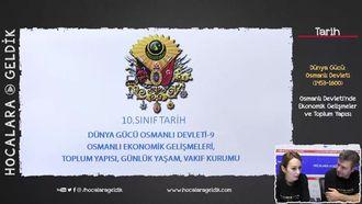 Osmanlı Devleti'nde Ekonomik Gelişmeler ve Toplum Yapısı izle