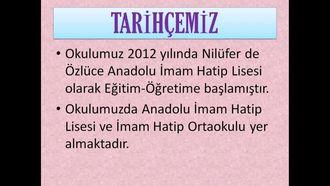 Özlüce Nurettin Topçu Anadolu İmam Hatip Lisesi Tanıtımı izle