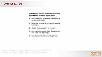 Batı Etkisinde Gelişen Türk Edebiyatı (Tevfik Fikret) izle