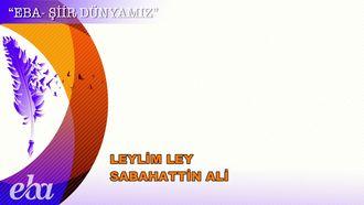 Leylim Ley - Sabahattin Ali izle
