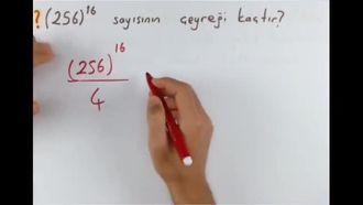8. Sınıf Matematik Üslü İfade Problemleri izle