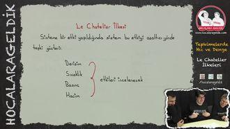 Le Chatelier İlkeleri izle