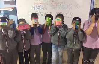 Avcılar Şehit Şerife Bacı İlkokulu 2/B sınıfı öğrencileri hayallerindeki kumbara... izle