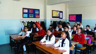 Hüseyin Akif Terzioğlu Ortaokulu 6. sınıfta What the weather like today? adlı şarkı... izle