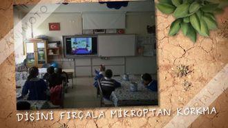 yünlüce ilkokulu 2/A sınıfı öğrencileri ağız ve diş sağlığını öğreniyor izle