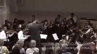 William TELL - (UŞAK MERKEZ GÜZEL SANATLAR LİSESİ ORKESTRASI) izle