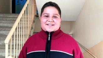 Şehit Musa Yüce Ortaokulu Öğrencilerinden Öğretmene Mesaj izle