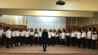 Sivas-Şarkışla Anafartalar Ortaokulu ÇANAKKALE GEÇİLMEZ!................ izle