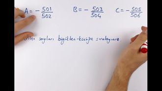 7. Sınıf Matematik 1. Dönem 2. Yazılı Sınava Hazırlık izle