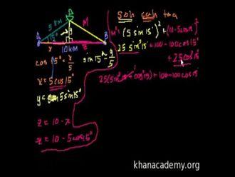 Sözel Trigonometri Problemleri 2 izle