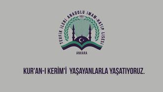 Ankara - Kur'an-ı Kerim'i Yaşayanlarla Yaşatıyoruz izle
