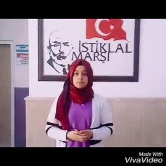 İŞARET DİLİYLE MEMLEKET İSTERİM ŞİİRİ (Gaziantep Gaziyurt ortaokulu Zerda KAYA) izle