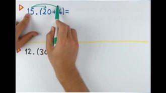 6. Sınıf Matematik Dağılma ve Ortak Çarpan Özelliği izle