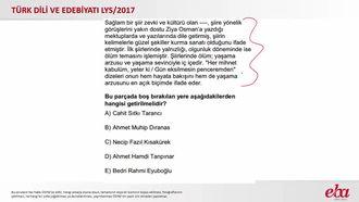 Cumhuriyet Dönemi Türk Edebiyatı (2017 LYS- TÜRK DİLİ VE EDEBİYATI) izle