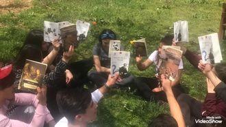 Bahçede Kitap Okuma Etkinliklerimiz izle