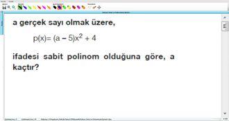 Polinom Türleri Ve Polinomlarda İşlemler 1 izle