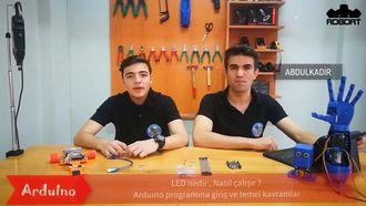 Arduino Öğreniyoruz #2 (Arduino İle Led Yakma) izle
