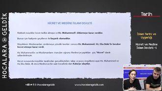 Hicret ve Medine İslam Devleti -1 izle