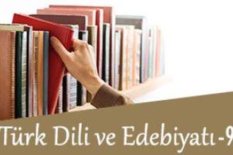 Türk Dili ve Edebiyatı 9 izle
