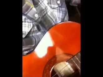 Gitar tellerin titreşimi- frekans izle