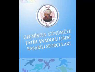 Elazığ Fatih Anadolu Lisesi Başarılı Sporcuları izle