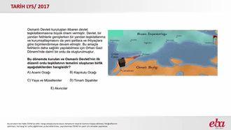 Osmanlı Devleti'nde Ordu Teşkilatı (2017 LYS- TARİH) izle
