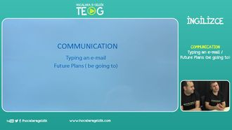 Typing an e-mail / Future Plans (be going to) izle