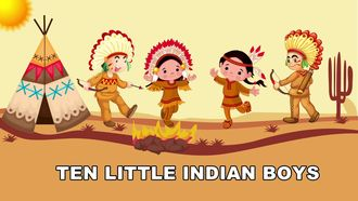 Ten Little Indian Boys Song izle