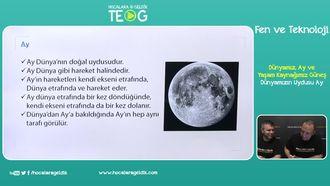 Dünyamızın Uydusu Ay izle