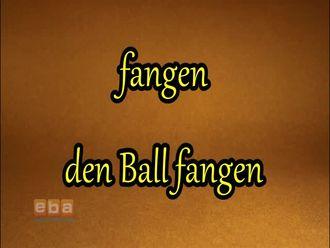 Fangen - den Ball fangen izle